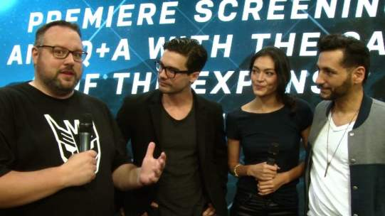 Mr. Green chats with the cast of The Expanse (coming to Space and Syfy in December)