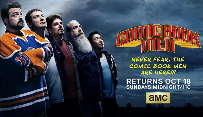 Comic Book Men Returns This Sunday at Midnight for More Four-Colour Tomfoolery