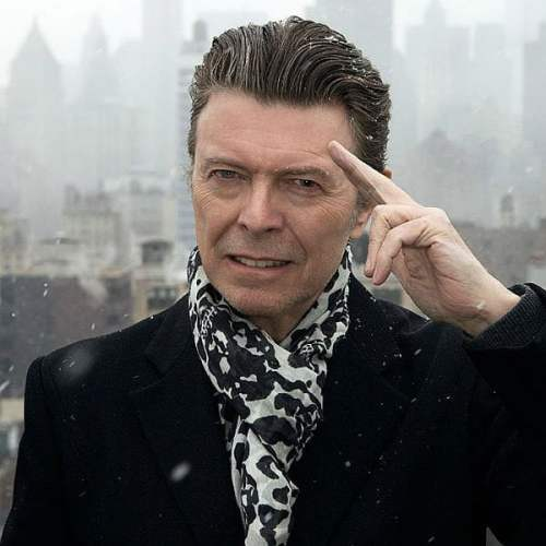Bowie Salute Glast 600