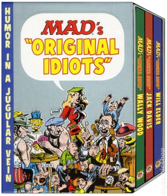 "Pick up MAD's ""Original Idiots"" Series today!"