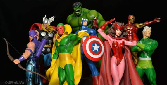 You can see a bunch of these cats in the upcoming Captain America: Civil War......some of 'em.