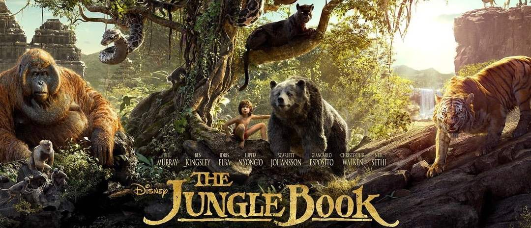 This Week's Episode of Geek Hard (04-15-2016): Bear Necessities with The Jungle Book!