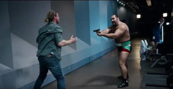 Rusev needs money......why else would he strap a bomb to a kid. That would be a film worth watching.