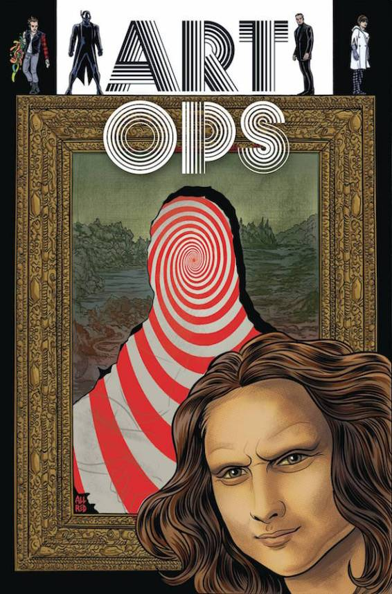 Art Ops is one of many great titles to check out from Vertigo. The first 6 issues are now available in a trade at your local comic shop.