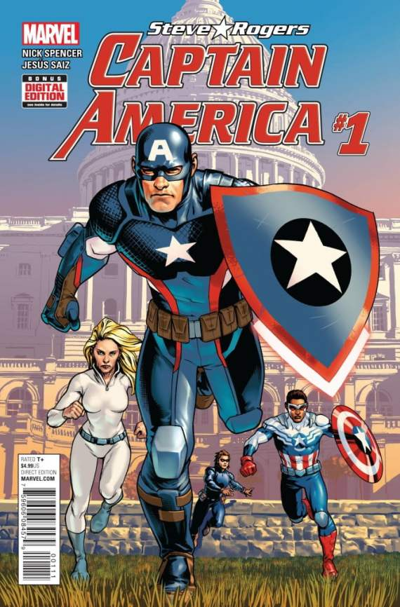 Let the story play out and find out the truth. Captain America: Steve Rogers is available now.