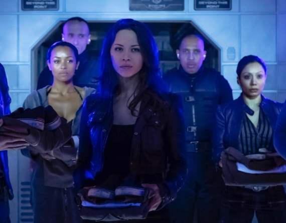 Catch Two dishing about Season Two of Dark Matter this Friday on Geek Hard - Photo: Jan Thijs 2015