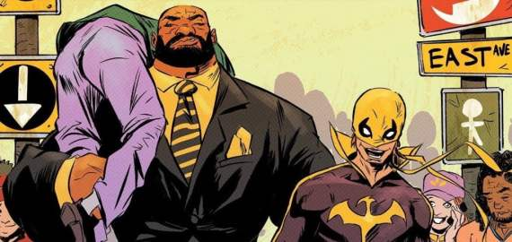 Luke Cage and Danny Rand are back together again as we take a look at the first story arc of their comic on an ALL NEW Bloodbath.