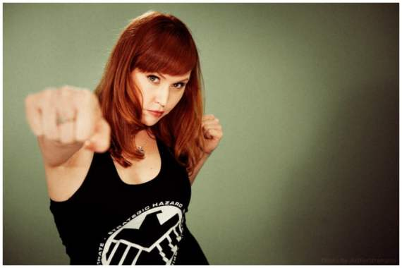 Don't miss Geek Hard tonight or Lorraine Cink may have to hurt ya!