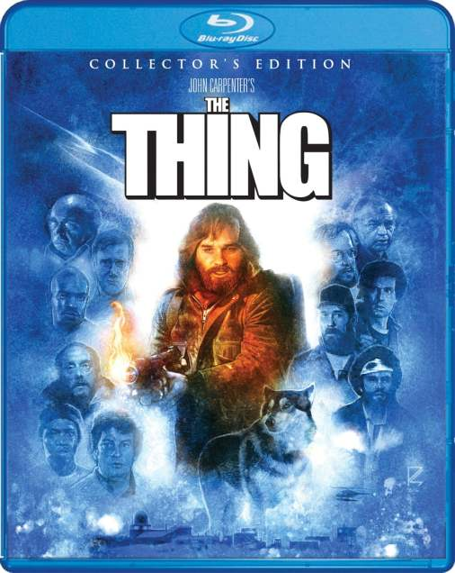 Shout Factory does it again with John Capenter's The Thing Director's Cut Blu-ray.