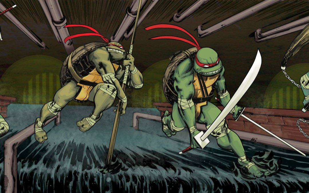 Fear and Loathing in Geekdom: IDW's Teenage Mutant Ninja Turtles 60+ Issues and Counting!