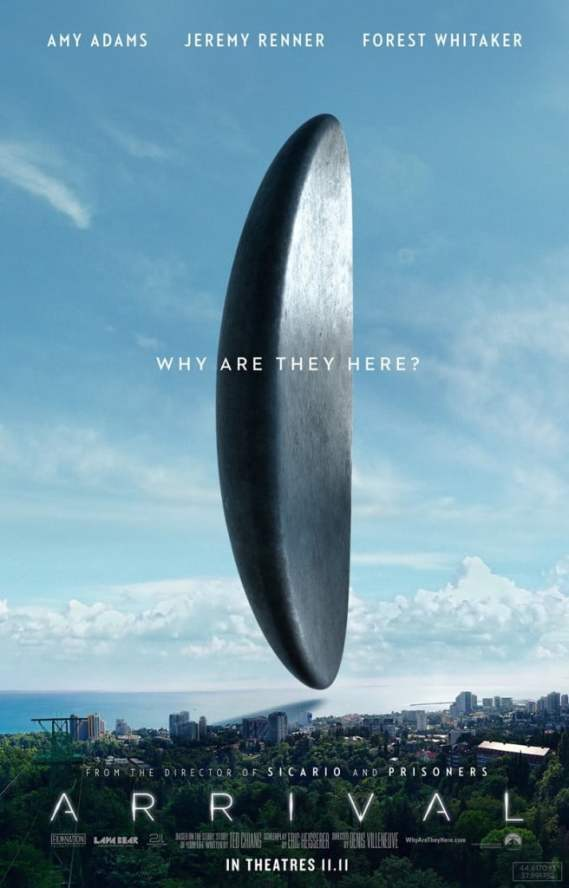 Will this mark the Arrival of a great new sci-fi film? Find out this Friday.