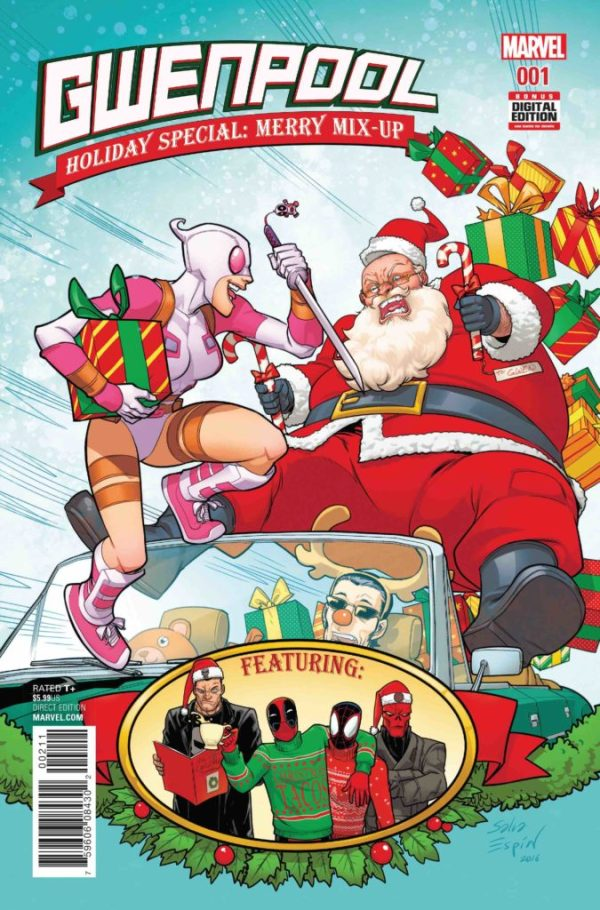Gwenpool Holiday Special