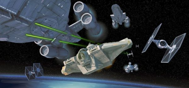 Very excited to see how Rogue One plays into Star Wars Rebels in the future.
