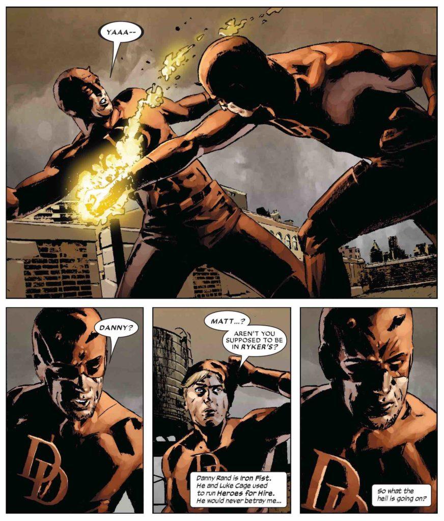 Danny Rand as Daredevil