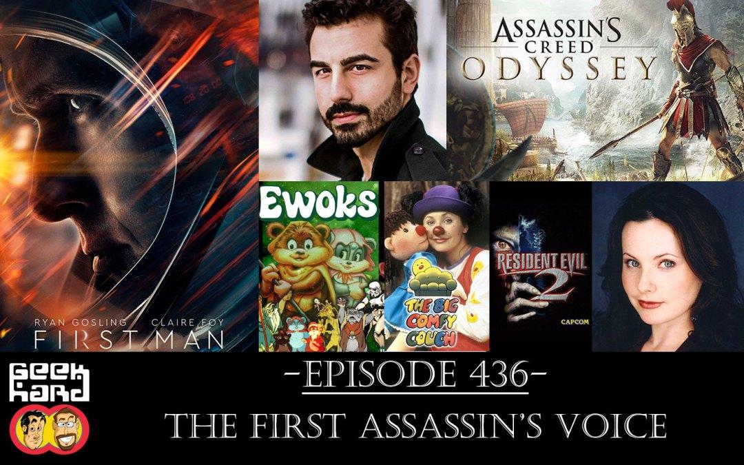 Geek Hard: Episode 436 – The First Assassin's Voice
