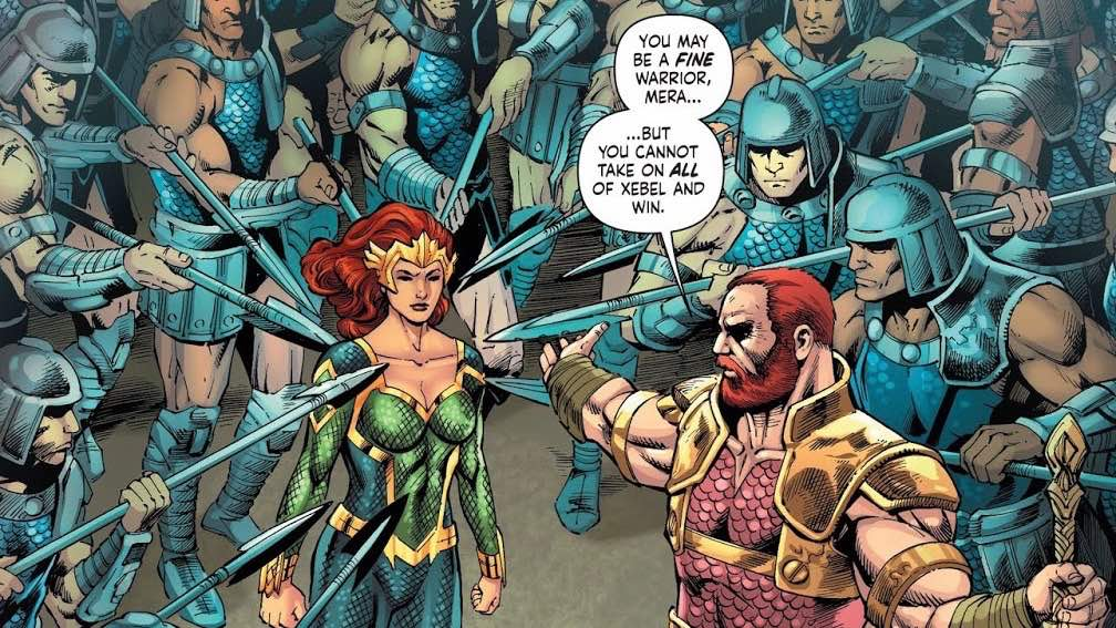 Andrew's Picks: Mera Queen of Atlantis Trade Paperback