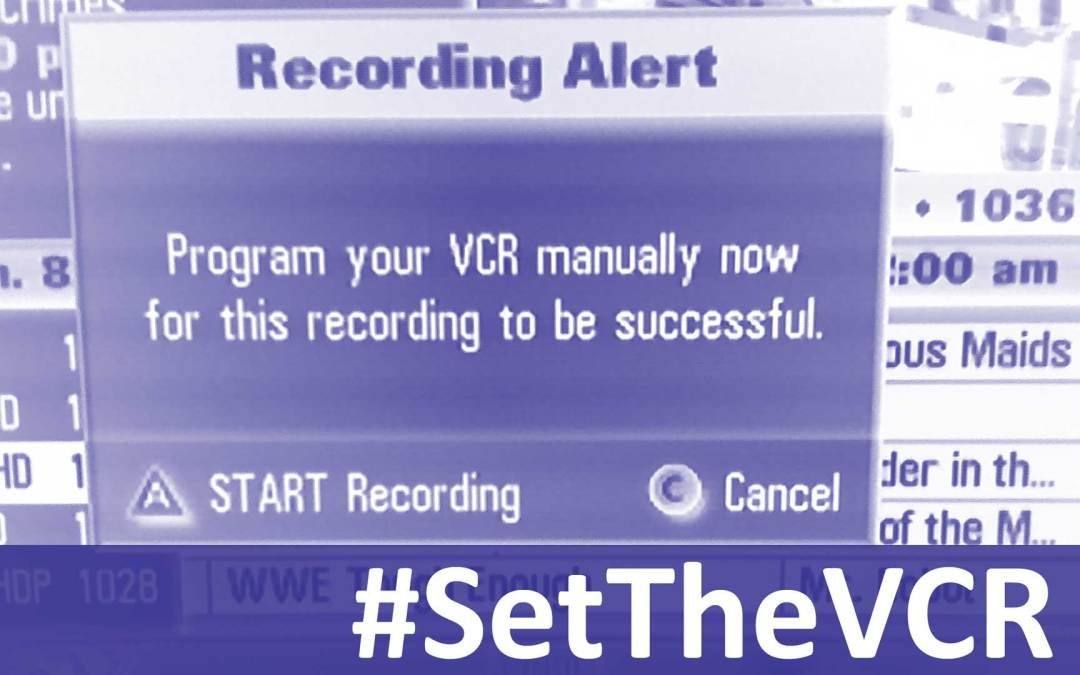 #SetTheVCR for the Week of March 3rd