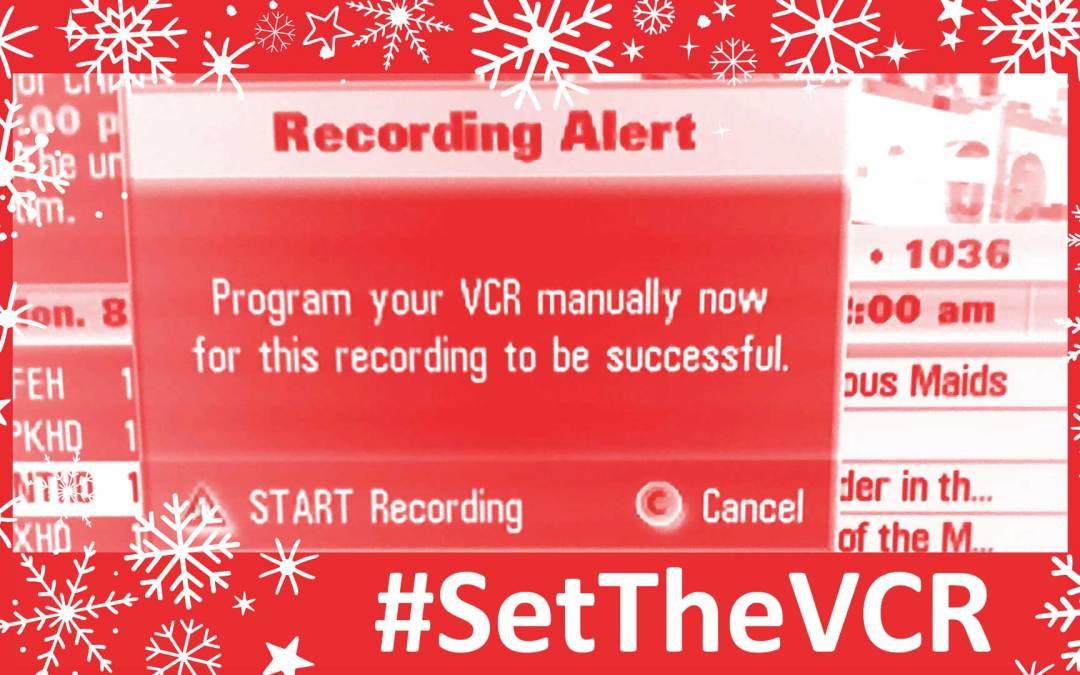 #SetTheVCR for the Week of December 23, 2018