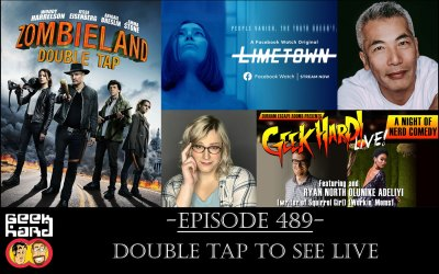 Geek Hard: Episode 489 – Double Tap to See LIVE