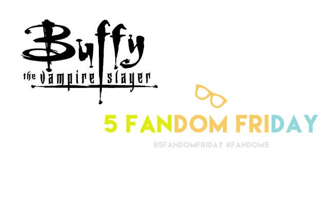 5 Fandom Friday - Fandoms I'm thankful for