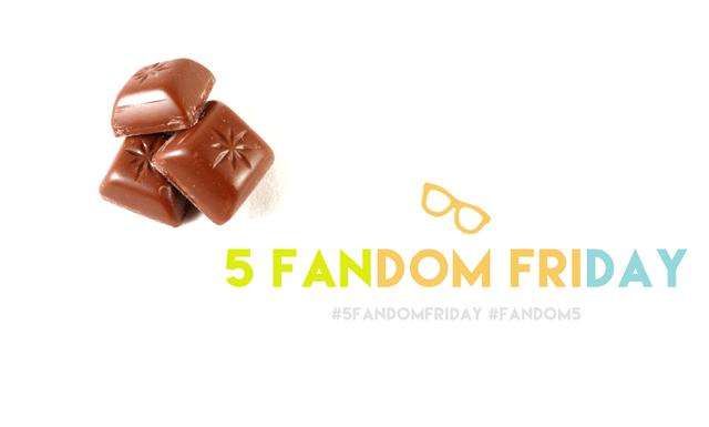 5 Fandom Friday - Comfort foods