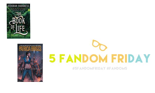 5 Fandom Friday - My TBR pile