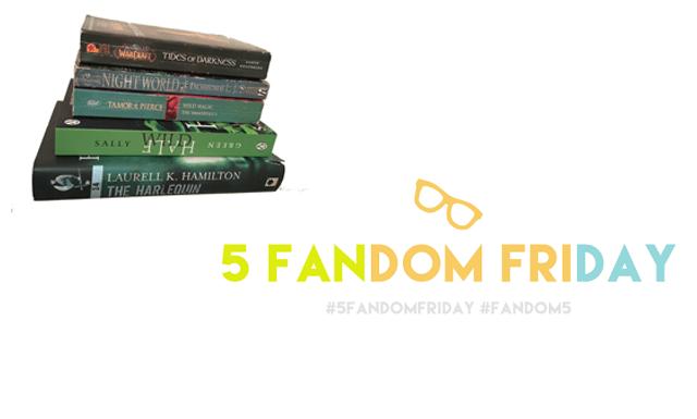 5 Fandom Friday - Green Photo challenge