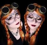 Steampunk Makeup by Katie Alves