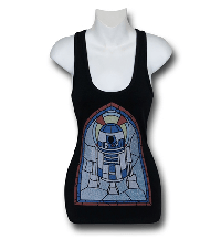 R2-D2 Stained Glass Top from Superhero Stuff