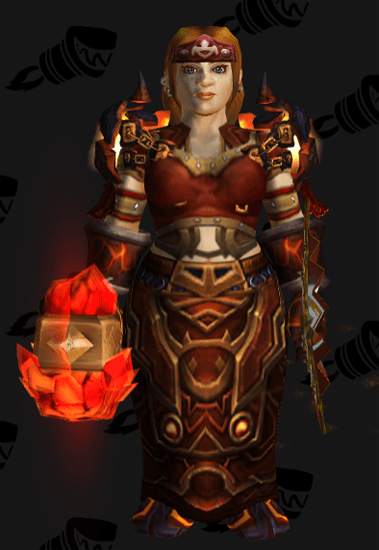 Fiery Rage of the Cataclysm - Front View