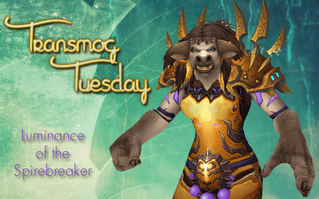 #TransmogTuesday Week 13 - Luminance of the Spiritbreaker