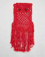 Glamorous Crochet Cross Body Bag