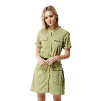 Craghoppers – Soft khaki Nosilife symone shirt dress