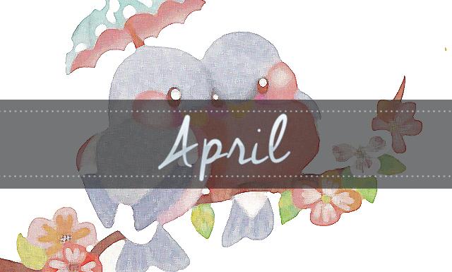 Geeking by in April