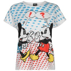 Disney Minnie & Mickey Arguing Sports Direct