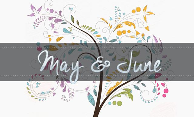 Geeking by in May & June