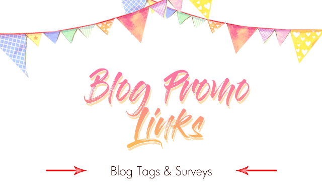Blog Promo Links - Blog Tags & Surveys