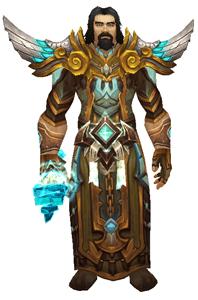 Azerite Wizard Transmog Set Front View