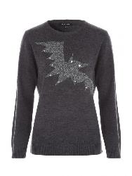 Bat sweater from Peacocks