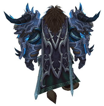 Dreadwake of the Ebon Blade - Back View Sheathed