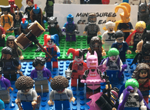 Minifigures by Hail the Villains.com