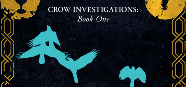The Night Raven by Sarah Painter is the first book in the Crow Investigations series.