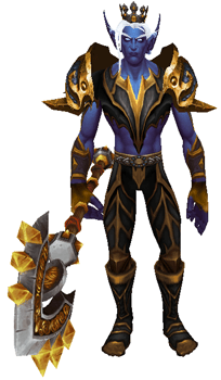 The Rat King Transmog Set - Front View