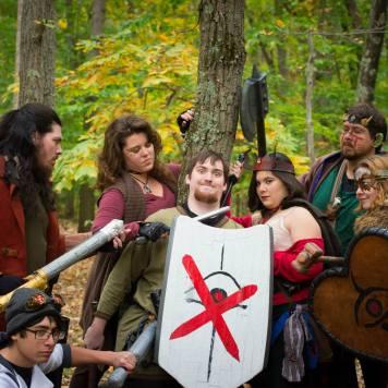 The Fir'bolg of Seventh Kingdom IGE. Credit: Darren Fitzgerald.