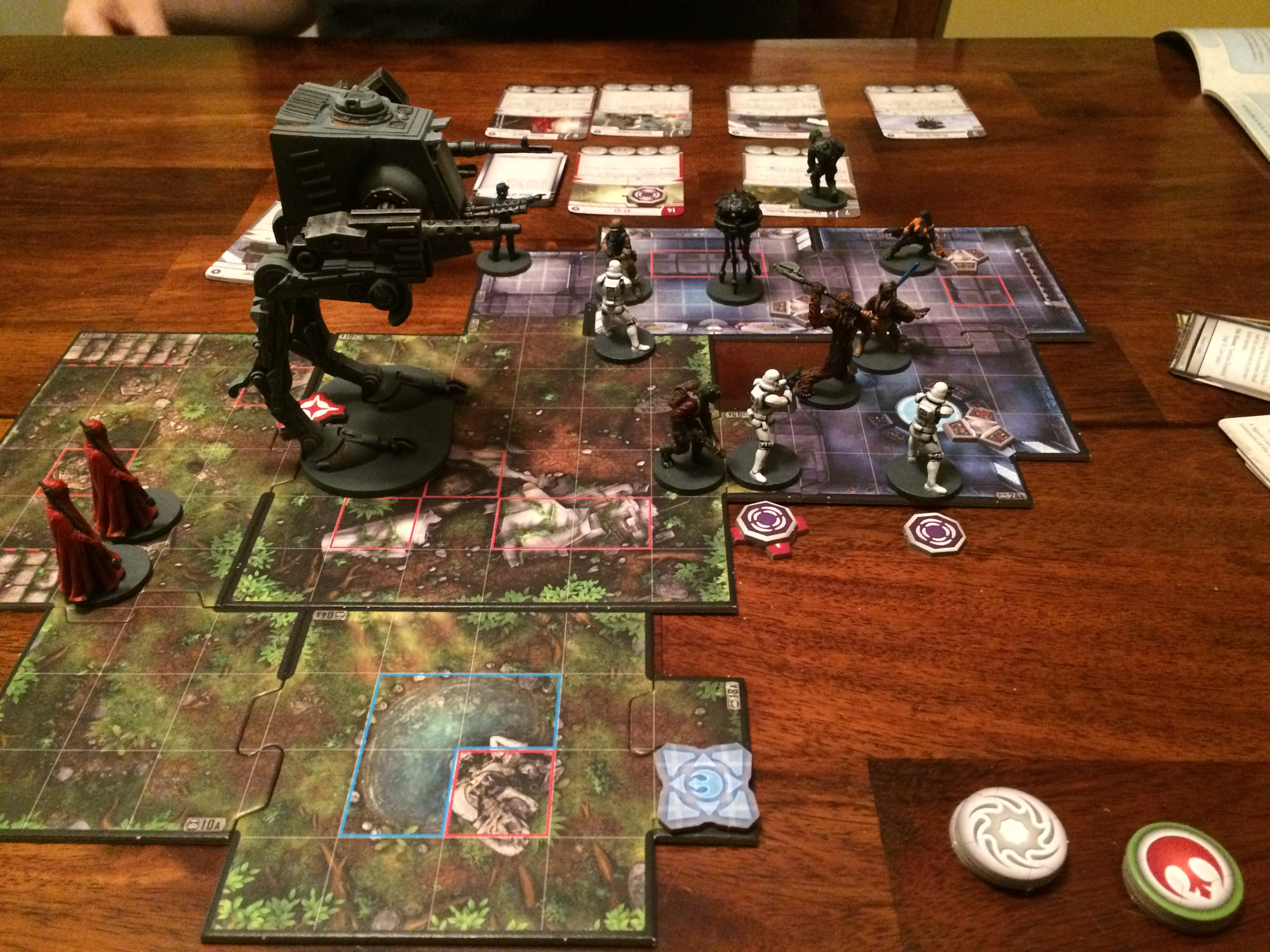 Imperial Assault Game Spread