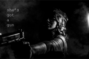 She's Got a Gun: Available Soon!