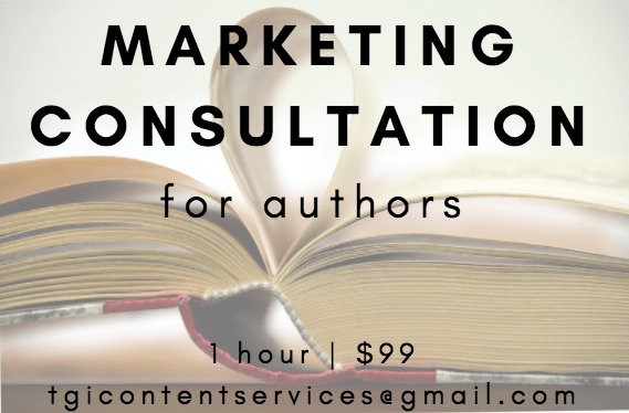 marketing consultation for authors