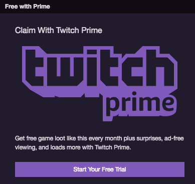 get twitch prime