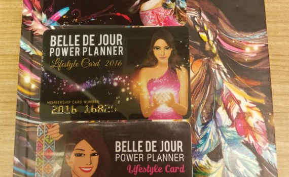 Belle De Jeur 2018 Power Planner