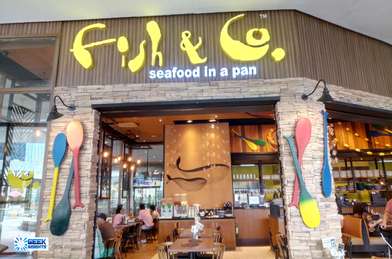 Fish & Co Seafood in a Pan BGC branch